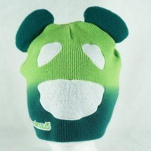 Accessories - Deadmau5 Face & Ears Design Green Beanie Ski Hat